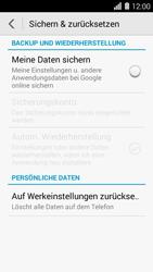 Huawei Ascend Y550 - Fehlerbehebung - Handy zurücksetzen - Schritt 6