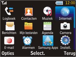 Samsung S3570 Chat 357 - Internet - handmatig instellen - Stap 15