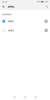 Huawei Mate 10 Pro Dual-SIM (Model BLA-L29) - Android Pie - Internet - Handmatig instellen - Stap 16