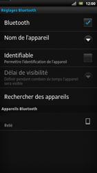 Sony LT22i Xperia P - Bluetooth - connexion Bluetooth - Étape 12