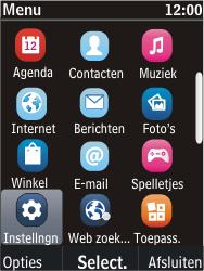 Nokia C2-05 - netwerk en bereik - gebruik in binnen- en buitenland - stap 3