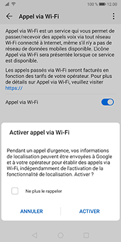 Huawei Mate 10 Pro - Android Pie - WiFi - Activez WiFi Calling - Étape 8
