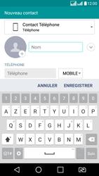 LG LG K8 - Contact, Appels, SMS/MMS - Ajouter un contact - Étape 5