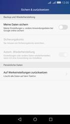 Huawei Y6 - Fehlerbehebung - Handy zurücksetzen - Schritt 6