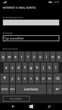 Microsoft Lumia 640 XL - E-Mail - Konto einrichten - Schritt 11