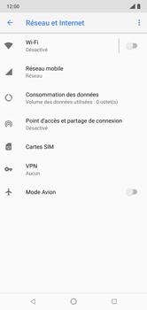 Nokia 7.1 - Internet et connexion - Partager votre connexion en Wi-Fi - Étape 5