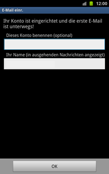 Samsung N7000 Galaxy Note - E-Mail - Konto einrichten - Schritt 16