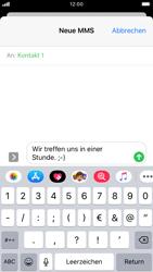 Apple iPhone 8 - iOS 13 - MMS - Erstellen und senden - Schritt 12