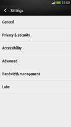 HTC Desire 601 - Internet - Manual configuration - Step 22