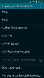 Samsung Galaxy Alpha - Internet - Manuelle Konfiguration - 1 / 1