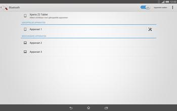 Sony Xperia Tablet Z2 (SGP521) - Bluetooth - koppelen met ander apparaat - Stap 10