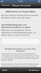 Apple iPhone 5 - Apps - Einrichten des App Stores - Schritt 6