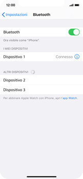 Apple iPhone X - iOS 13 - Bluetooth - Collegamento dei dispositivi - Fase 6