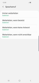 Samsung Galaxy S10 Plus - Anrufe - Rufumleitungen setzen und löschen - 11 / 15