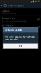 Samsung Galaxy S 4 Active - Software - Installing software updates - Step 10