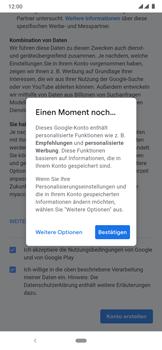Nokia 7.2 - Apps - Einrichten des App Stores - Schritt 18