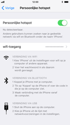 Apple iPhone 8 - WiFi - WiFi hotspot instellen - Stap 8
