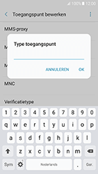 Samsung Galaxy A5 (2017) - Android Marshmallow - internet - handmatig instellen - stap 14