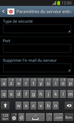 Samsung Galaxy Trend Lite - E-mail - configuration manuelle - Étape 9