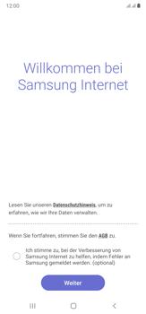 Samsung Galaxy Note 20 Ultra 5G - Internet und Datenroaming - Verwenden des Internets - Schritt 5