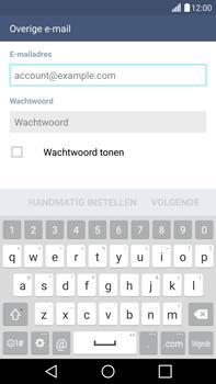 LG G4 - e-mail - handmatig instellen - stap 6
