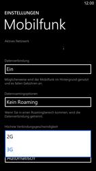 Nokia Lumia 1520 - Netzwerk - Netzwerkeinstellungen ändern - Schritt 6
