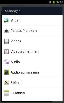 Samsung N7000 Galaxy Note - MMS - Erstellen und senden - Schritt 12