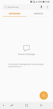 Samsung Galaxy A8 - Contact, Appels, SMS/MMS - Envoyer un SMS - Étape 4