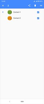 Sony Xperia 1 - Contactgegevens overzetten - delen via Bluetooth - Stap 6