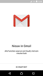 Sony Xperia XZ Premium - E-mail - handmatig instellen (gmail) - Stap 5
