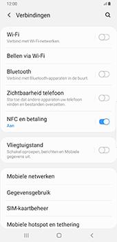 Samsung galaxy-note-8-sm-n950f-android-pie - WiFi - Handmatig instellen - Stap 5