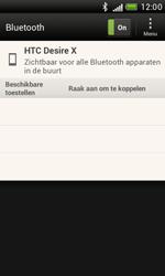 HTC T328e Desire X - bluetooth - aanzetten - stap 7