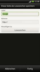 HTC One S - Internet und Datenroaming - Verwenden des Internets - Schritt 7