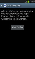 Samsung I8190 Galaxy S3 Mini - Fehlerbehebung - Handy zurücksetzen - Schritt 9
