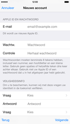 Apple iPhone 6 iOS 8 - Applicaties - Account aanmaken - Stap 13