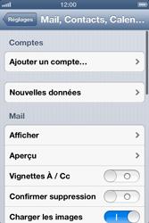 Apple iPhone 4 - E-mail - configuration manuelle - Étape 8