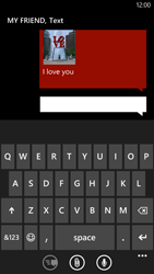 HTC Windows Phone 8X - MMS - Sending pictures - Step 11