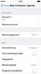 Apple iPhone 5s iOS 8 - E-mail - Account instellen (IMAP met SMTP-verificatie) - Stap 17