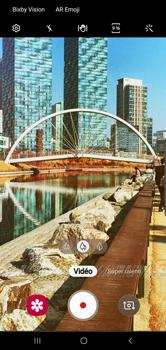 Samsung Galaxy S10 Plus - Photos, vidéos, musique - Créer une vidéo - Étape 11