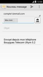Bouygues Telecom Ultym 5 II - E-mails - Envoyer un e-mail - Étape 8