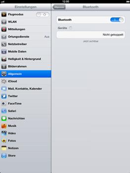 Apple iPad 4 - Bluetooth - Geräte koppeln - Schritt 8