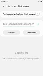 Samsung galaxy-xcover-4s-dual-sim-sm-g398fn - Beveiliging en ouderlijk toezicht - Nummer blokkeren - Stap 8