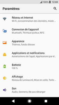 Sony Xperia XA2 Ultra - Réseau - Changer mode réseau - Étape 4