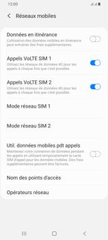 Samsung Galaxy A42 5G - Aller plus loin - Désactiver les données à l'étranger - Étape 7