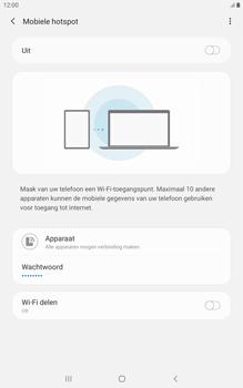 Samsung galaxy-tab-a-8-0-lte-2019-sm-t295 - WiFi - Mobiele hotspot instellen - Stap 7