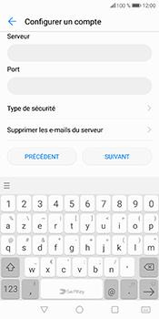 Huawei P Smart - E-mail - Configurer l