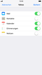 Apple iPhone 6s - E-Mail - Konto einrichten (yahoo) - 8 / 11