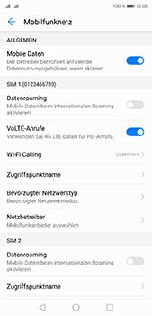 Huawei P20 Pro - Netzwerk - Manuelle Netzwerkwahl - Schritt 11