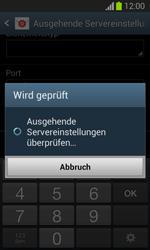 Samsung Galaxy Trend Lite - E-Mail - Manuelle Konfiguration - Schritt 15
