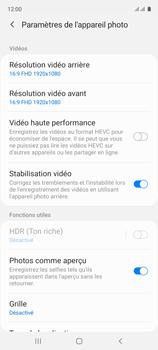 Samsung Galaxy A51 - Photos, vidéos, musique - Créer une vidéo - Étape 7